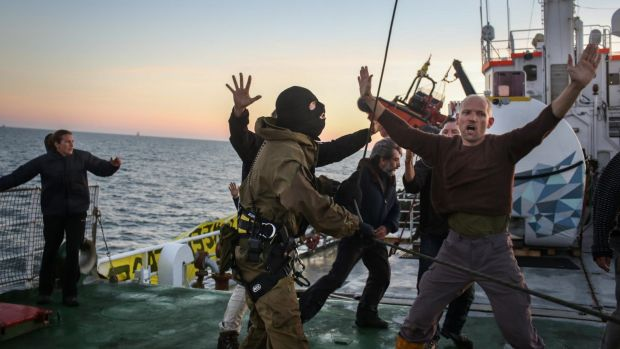 Greenpeace Arctic Sunrise arrest by Russians